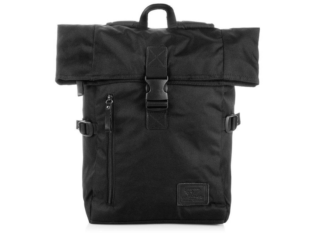 Sportovní batoh HAROLDS; černý