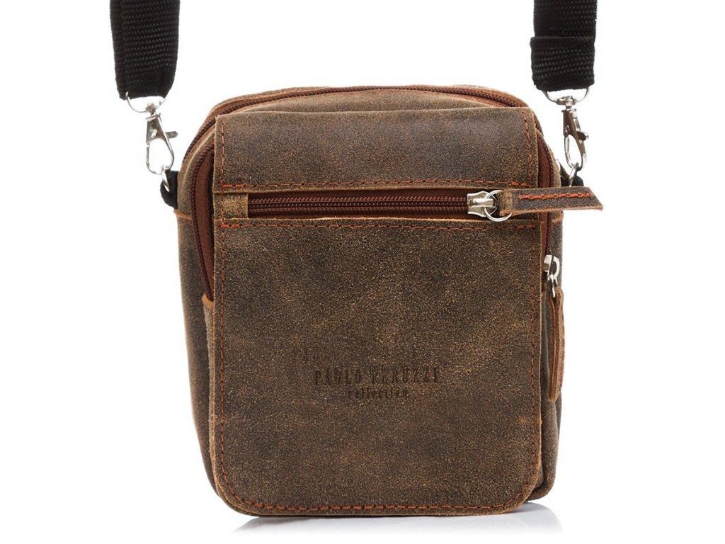 Malá pánská kabelka přes rameno PAOLO PERUZZI 75-PP