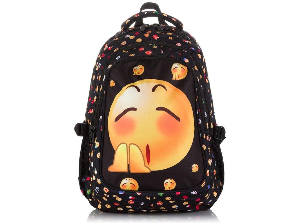 Dětský školní batoh; smajlík