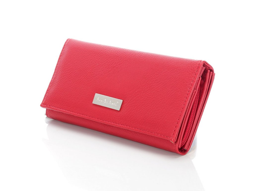 Elegantní dámská peněženka JENNIFER JONES; červená