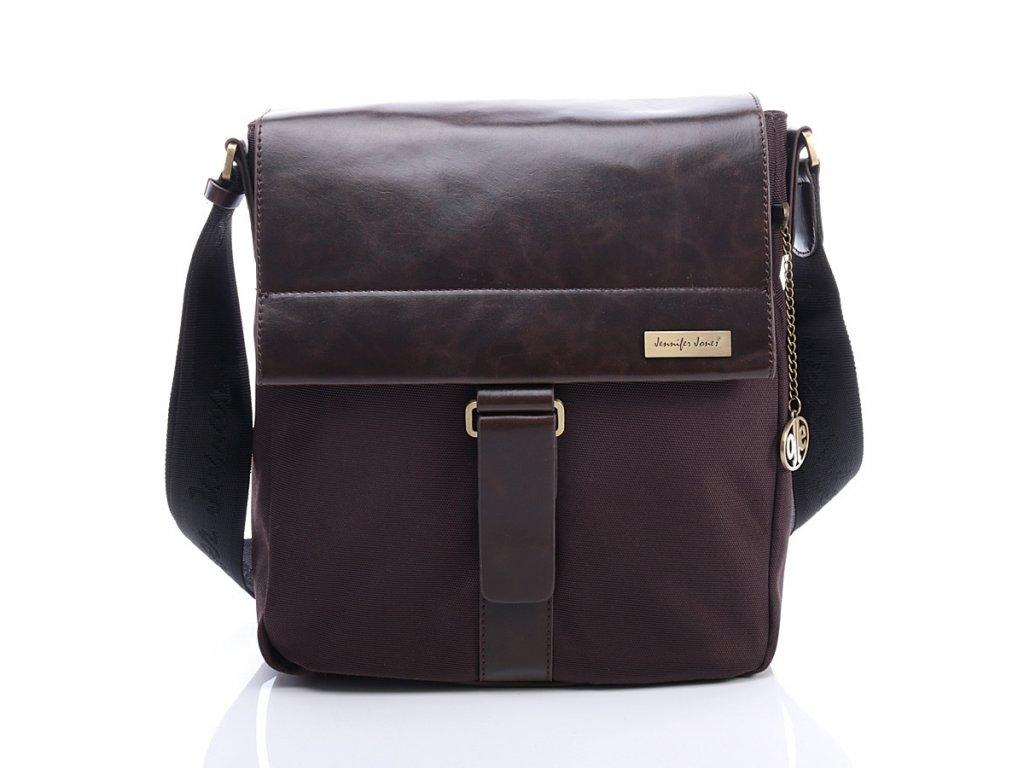 Exkluzivní dámská taška Jennifer Jones; hnědá