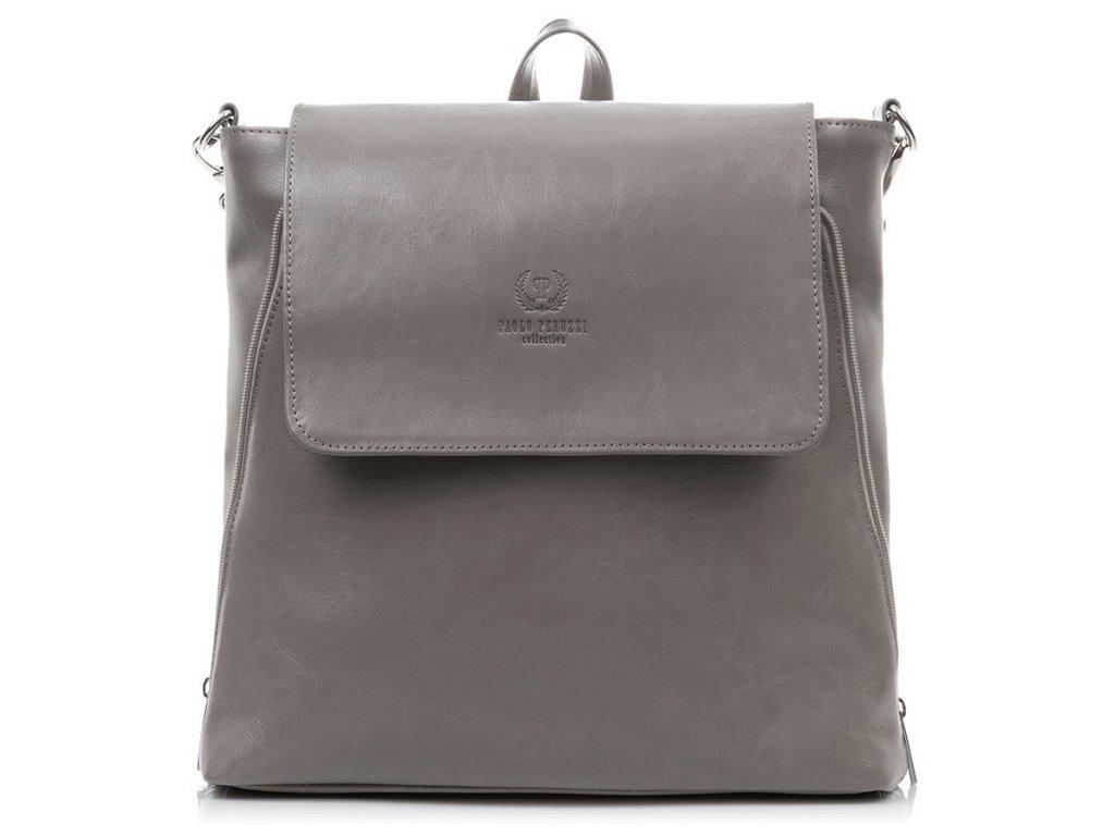Dámský kožený batoh 2v1 Paolo Peruzzi