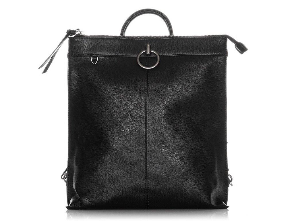 Dámský batoh z ekokůže Jennifer Jones; černý