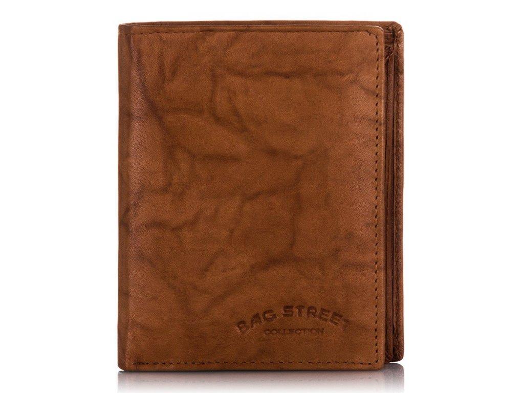 Pánská peněženka BAG STREET; světle hnědá