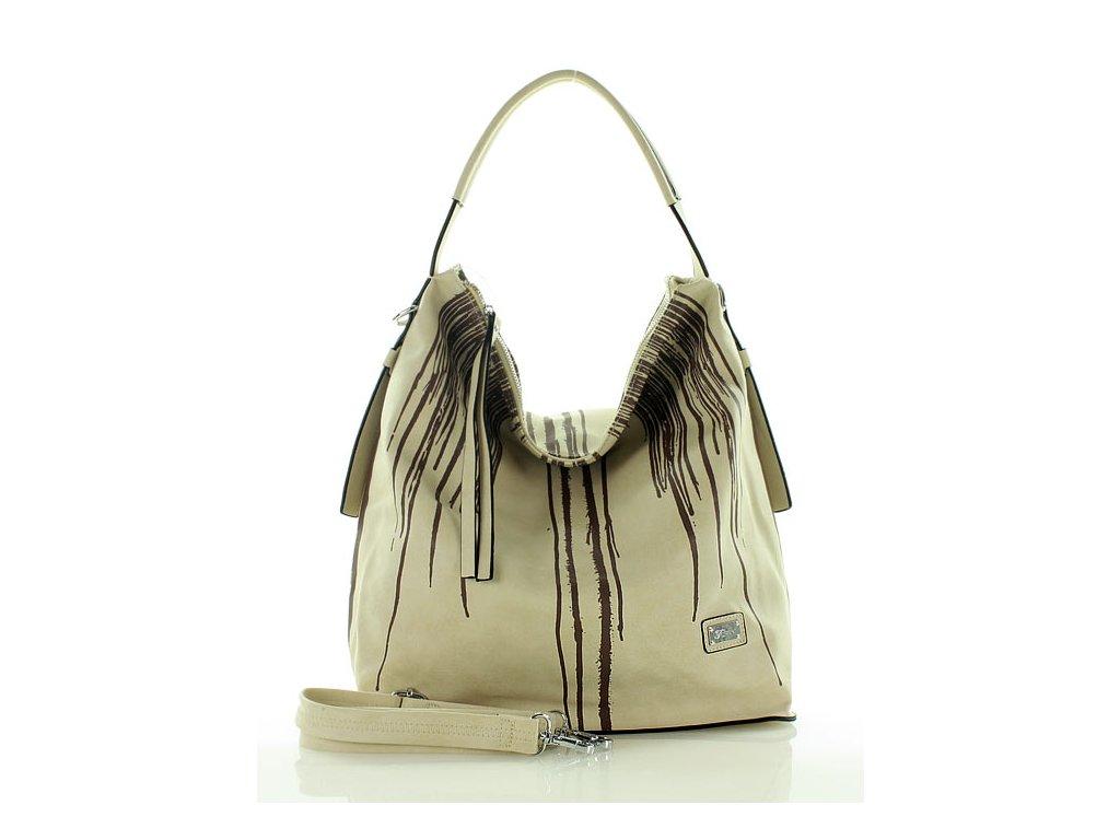 FURRINI Originální kabelka; béžová