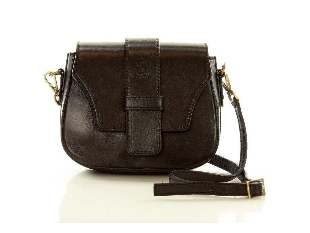 Mazzini crossbody kabelka; černá
