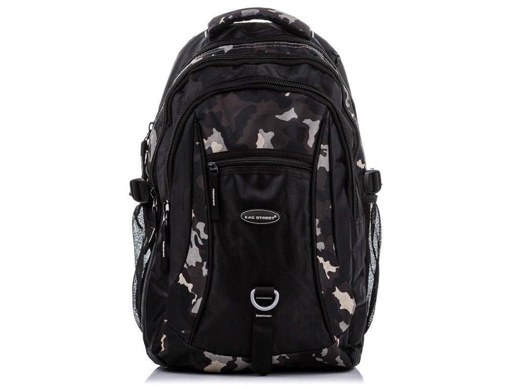 Pánský batoh na notebook sportovní Bag Street; maskáčový