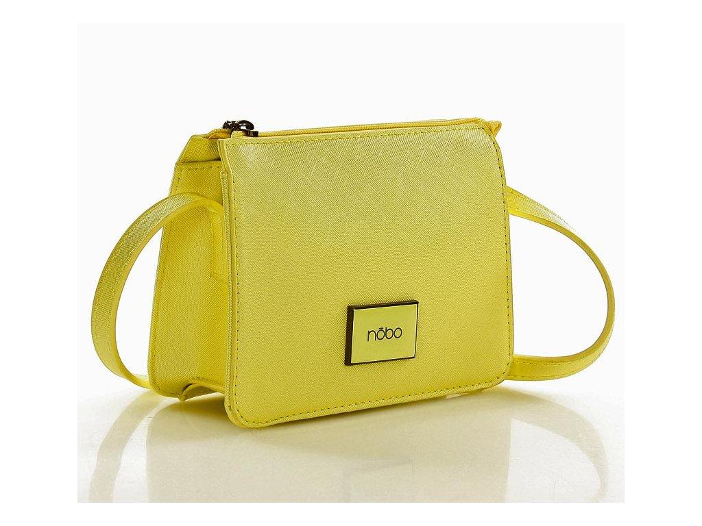 Malá crossbody kabelka NOBO; žlutá