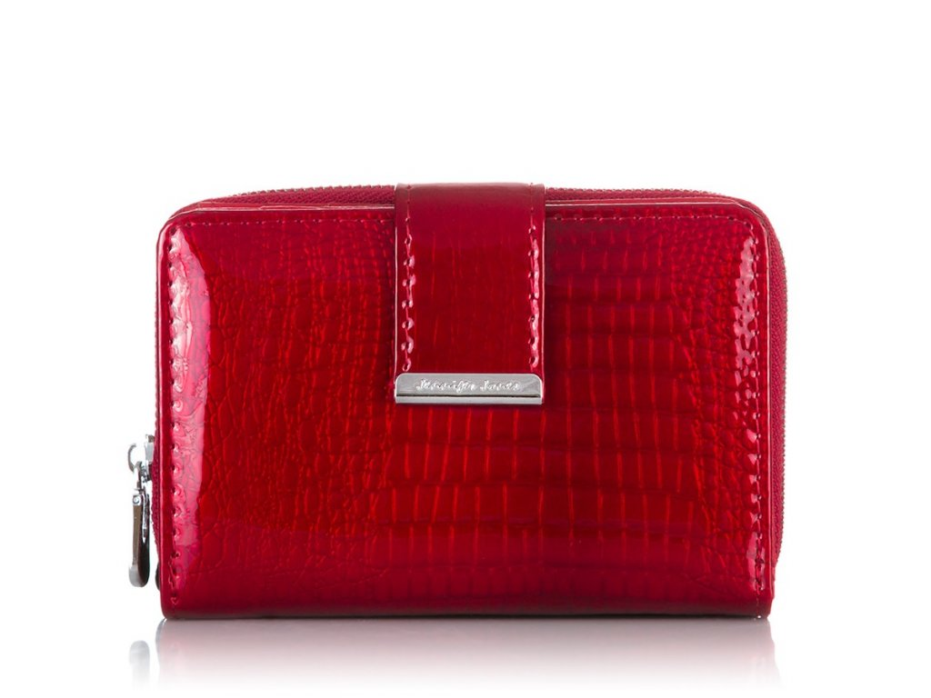 Dámská peněženka JENNIFER JONES; červená