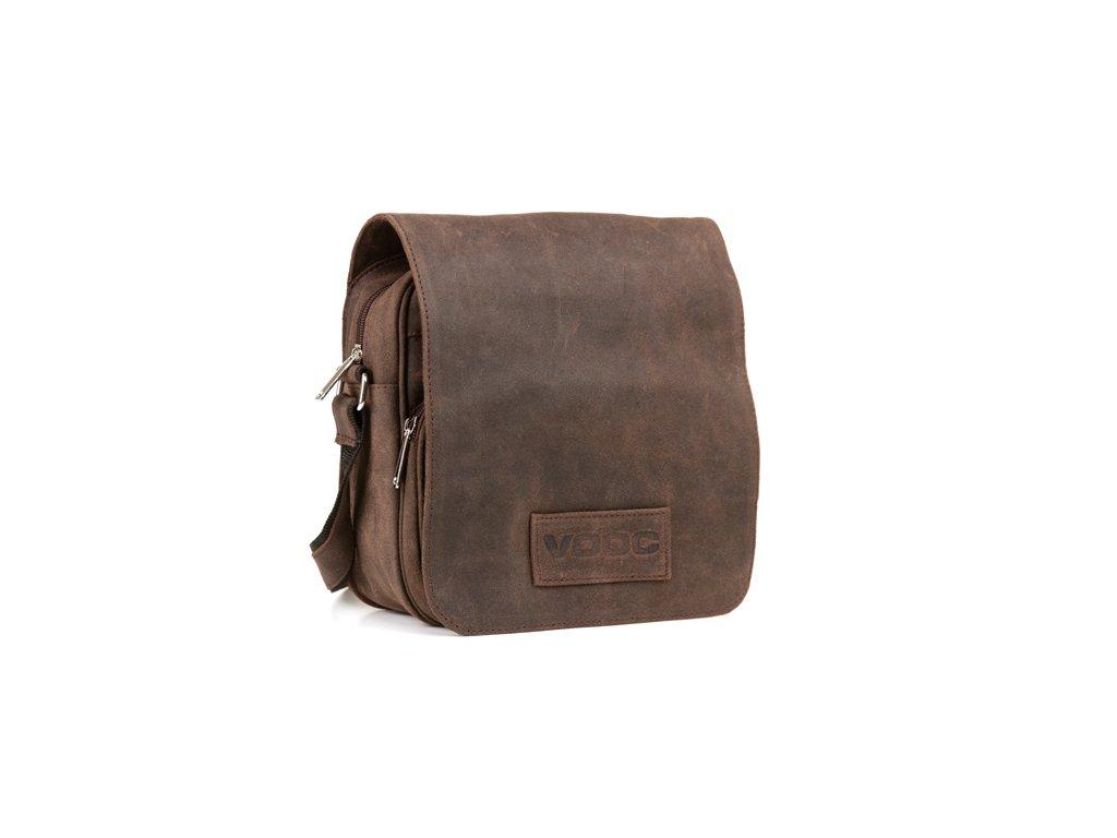 Kožená taška přes rameno VOOC URBAN