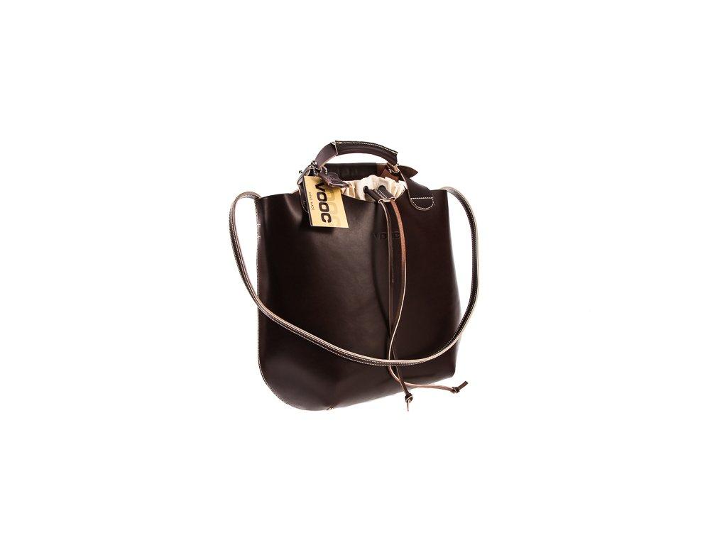 Módní taška, pytel VOOC Vintage z pravé kůže