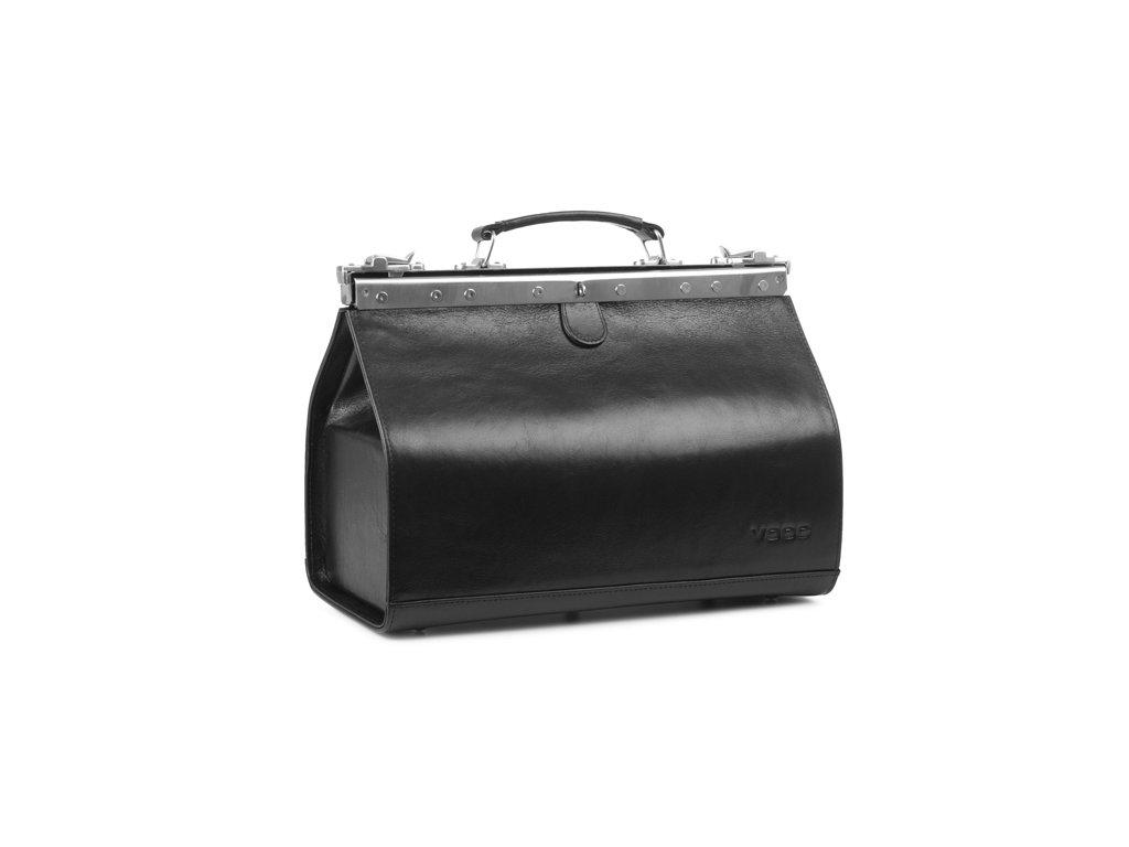 Velký kožený lékařský kufr