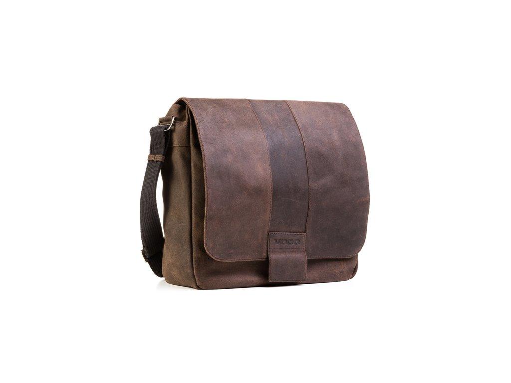 Kožená taška přes rameno URBAN