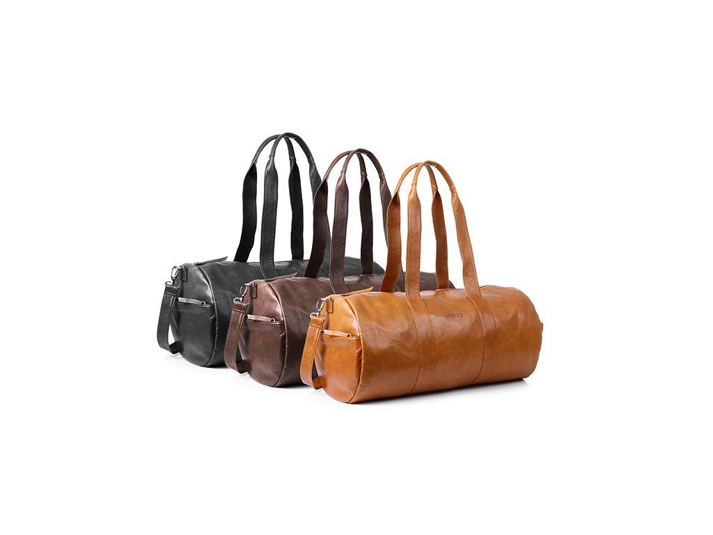 Exkluzivní cestovní a fitness taška z pravé hověziny