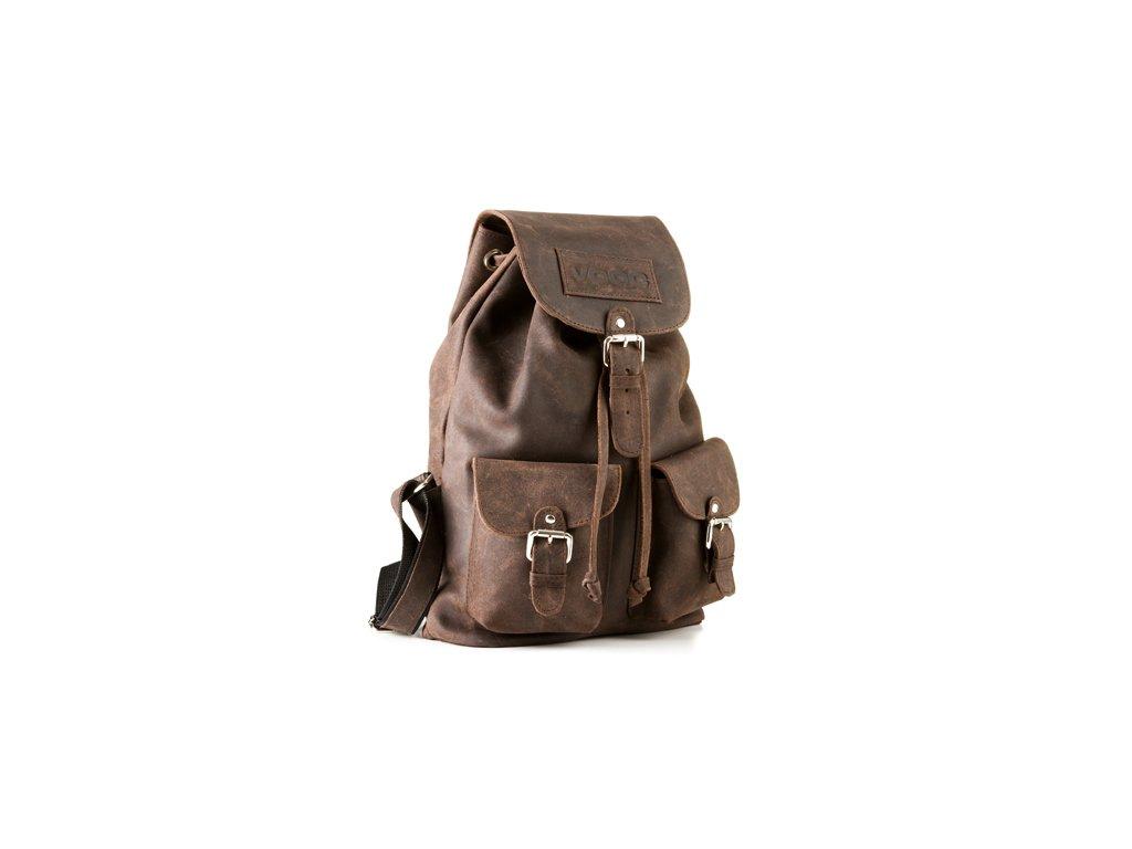 Kožený batoh v boho stylu URBAN