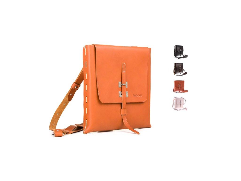 Designová kožená taška VOOC Vintage