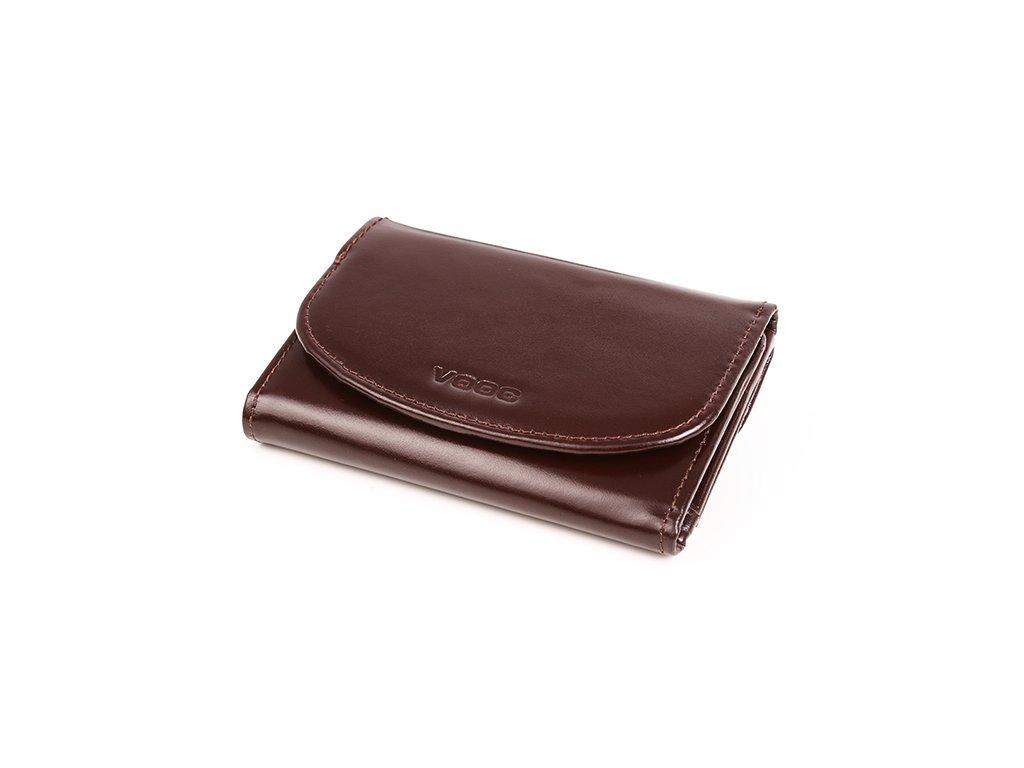 Elegantní dámská peněženka VOOC z pravé kůže