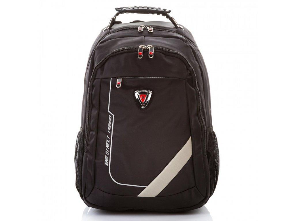 Odolný premiový batoh BAG STREET; černá