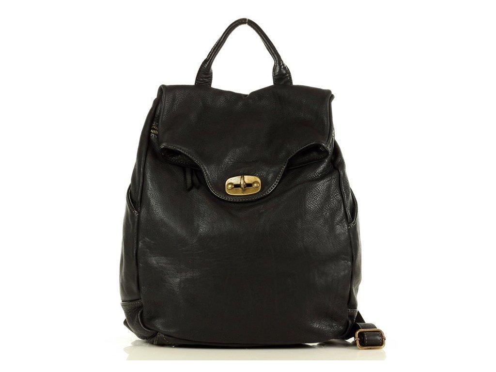 Velký batoh MAZZINI pro studium i cestování; černá