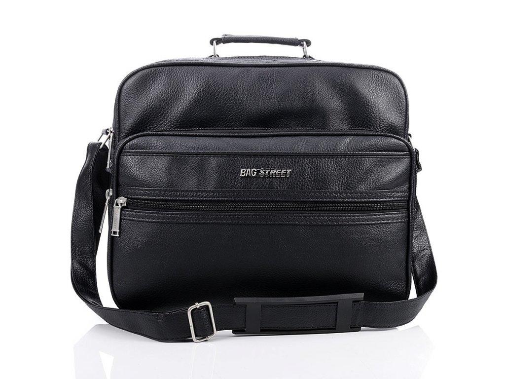 Pánská taška do města pro každý den; černá SKL