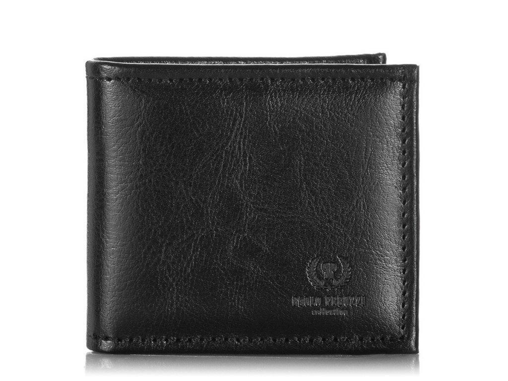 Malá značková italská pánská peněženka; černá SKL
