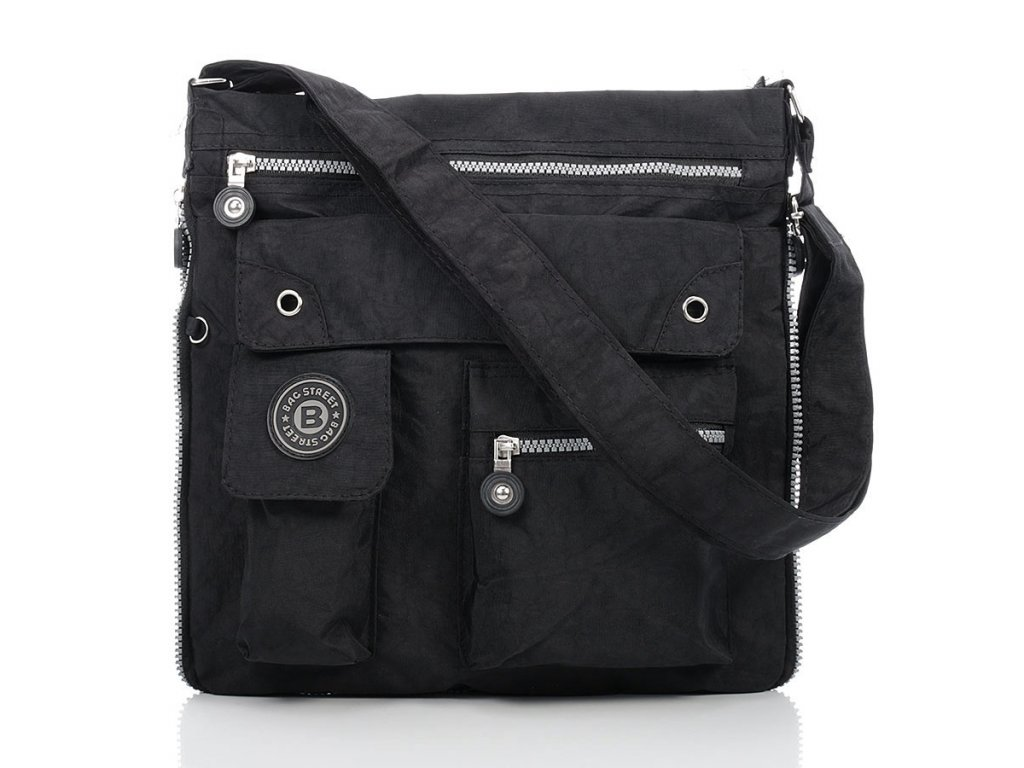 Taška přes rameno značky Bag Street; černá