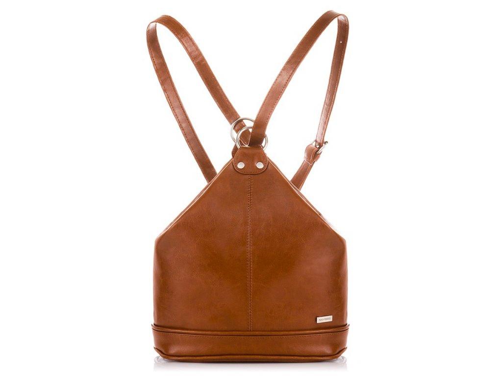 skorzany elegancki plecak i torebka paolo peruzzi z 38