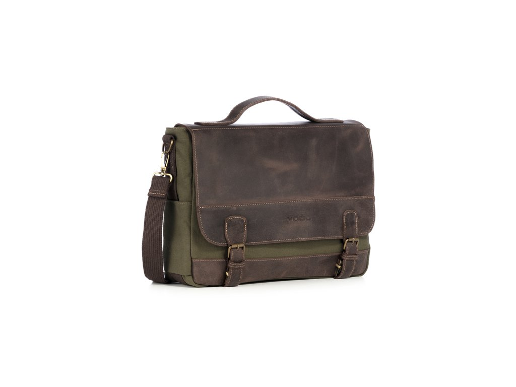 Odolná taška na notebook VOOC; zelená