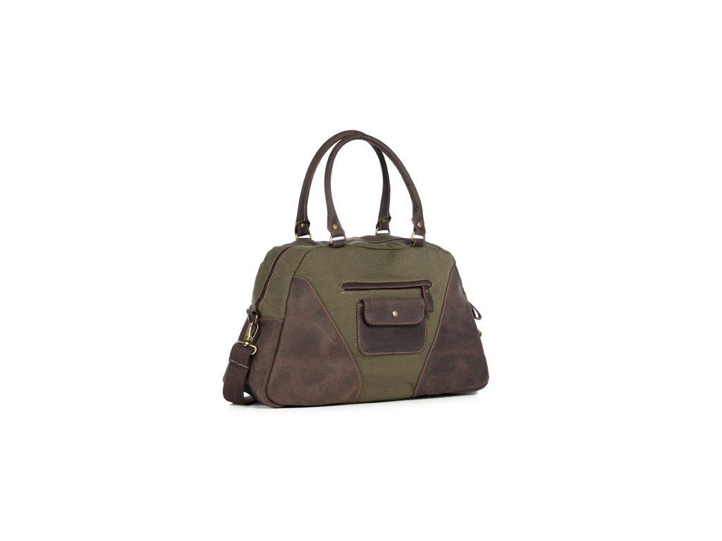 Prostorná taška pro každodenní použití VOOC; armádní zelená
