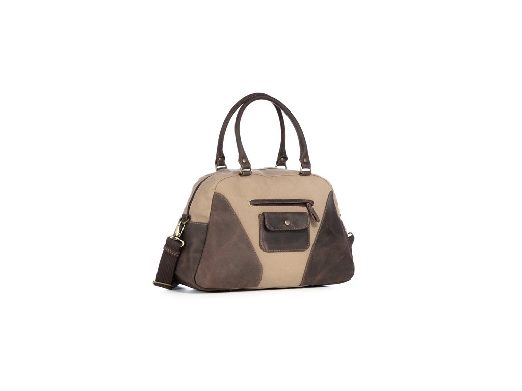 Prostorná taška pro každodenní použití VOOC; béžová
