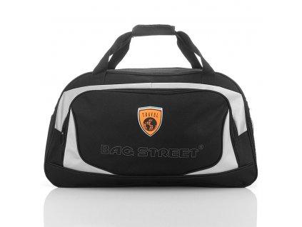 Sportovní cestovní taška Bag Street velká; černá