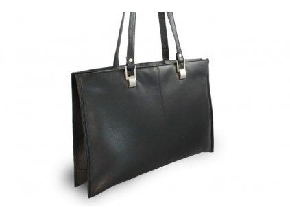 Kožená  dámská kabelka Arwel třízipová