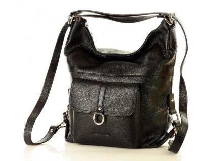 Dámská kožená taška/batoh Mazzini - Alessia