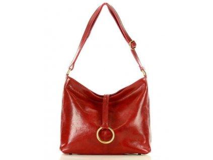 Červená kabelka Mazzini