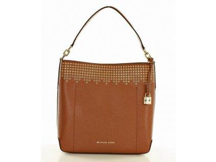 Luxusní kabelka MICHAEL KORS; hnědá