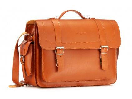 Velká kožená taška Vintage
