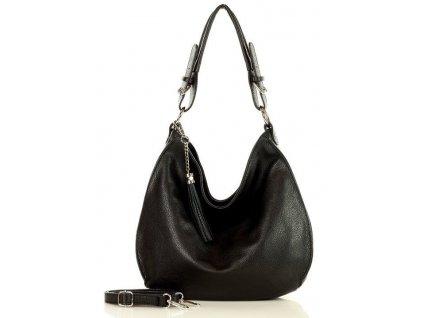 Elegantní kabelka MARCO MAZZINI; Černá
