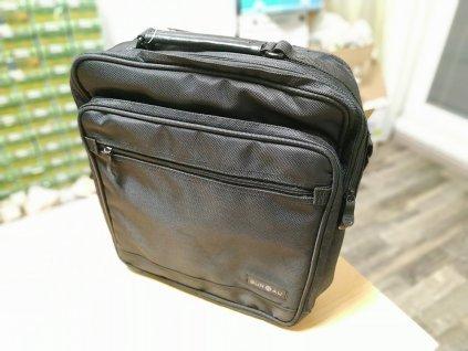 Textilní značková taška na notebook SUR5AL; černá SKL NOV