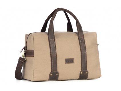 Originální cestovní taška VOOC; béžová