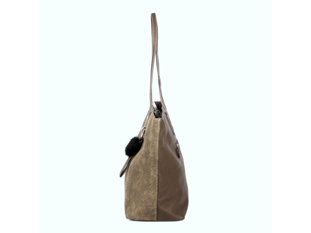 Dámská kabelka na rameno David Jones CM3538 khaki 9934531e85d