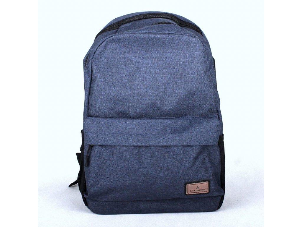 ad9212258f Dámský batoh David Jones PC-023 modrý s obsahem cca. 22l