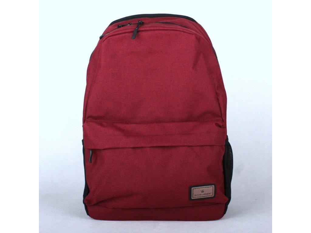 94cf4db3a3 Dámský batoh David Jones PC-023 tmavěčervený s obsahem cca. 22l