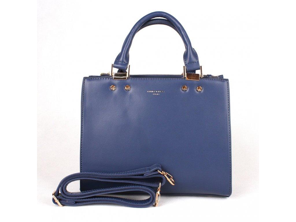 Dámská kabelka do ruky David Jones CM3797 modrá c6947fce6b5