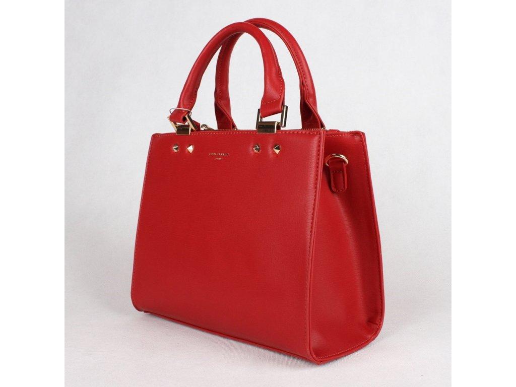 Dámská kabelka do ruky David Jones CM3797 červená ad613f9e8b0