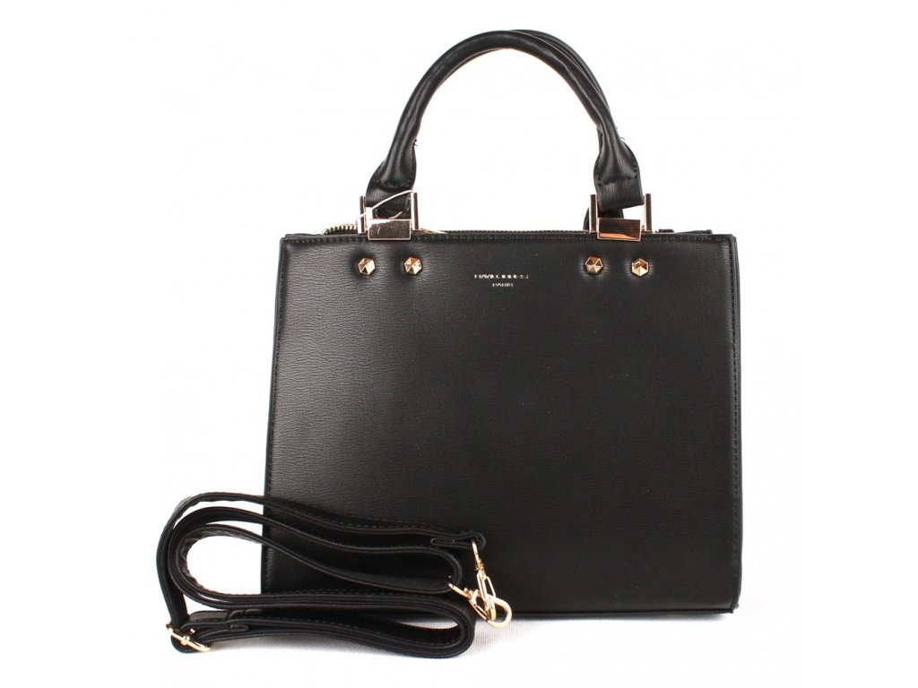 Dámská kabelka do ruky David Jones CM3797 černá 982b86f3691