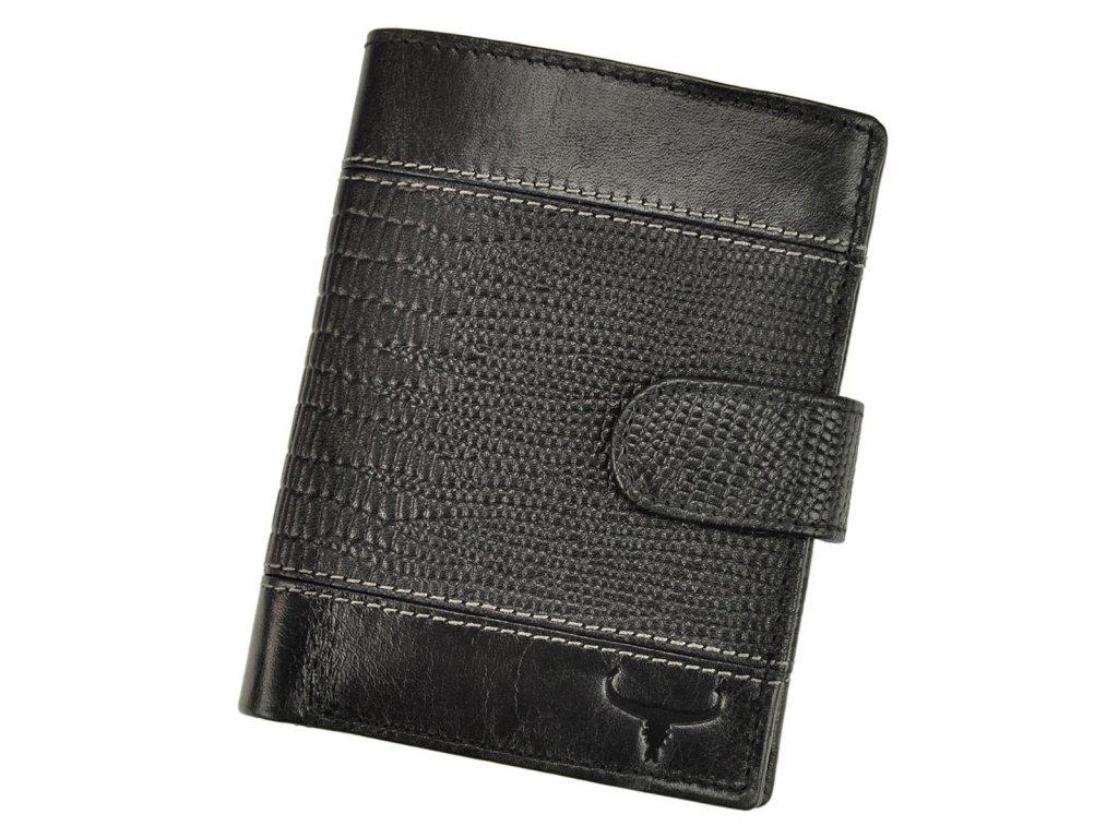 Pánská kožená peněženka Wild Buffalo (N890L-VTC) + RFID černá 6b3f4efa1b