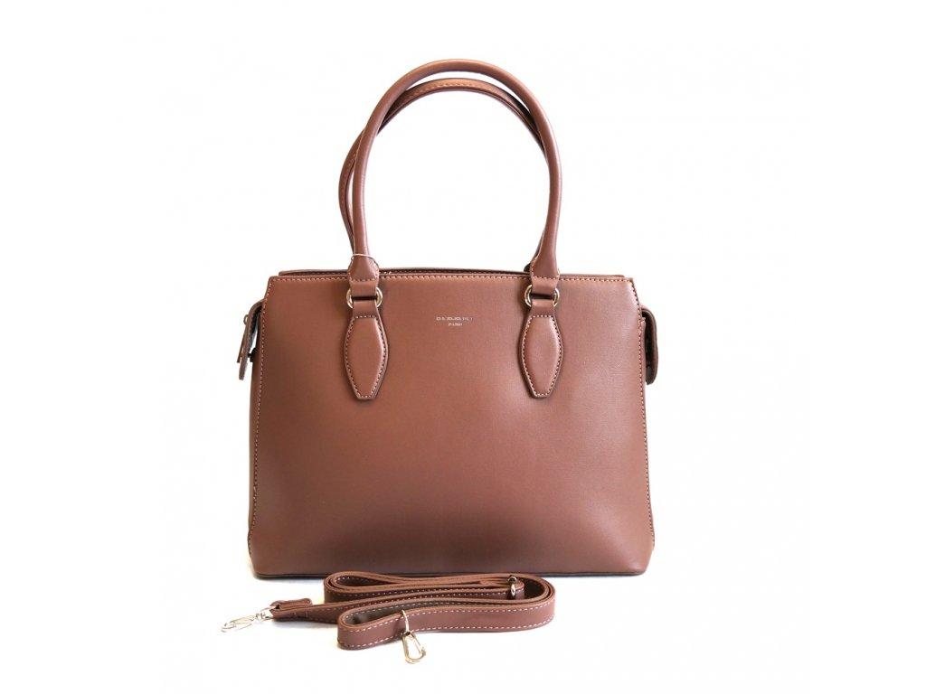 76af1756fc Dásmká tříoddílová kabelka do ruky David Jones 5803-1 tmavěrůžová