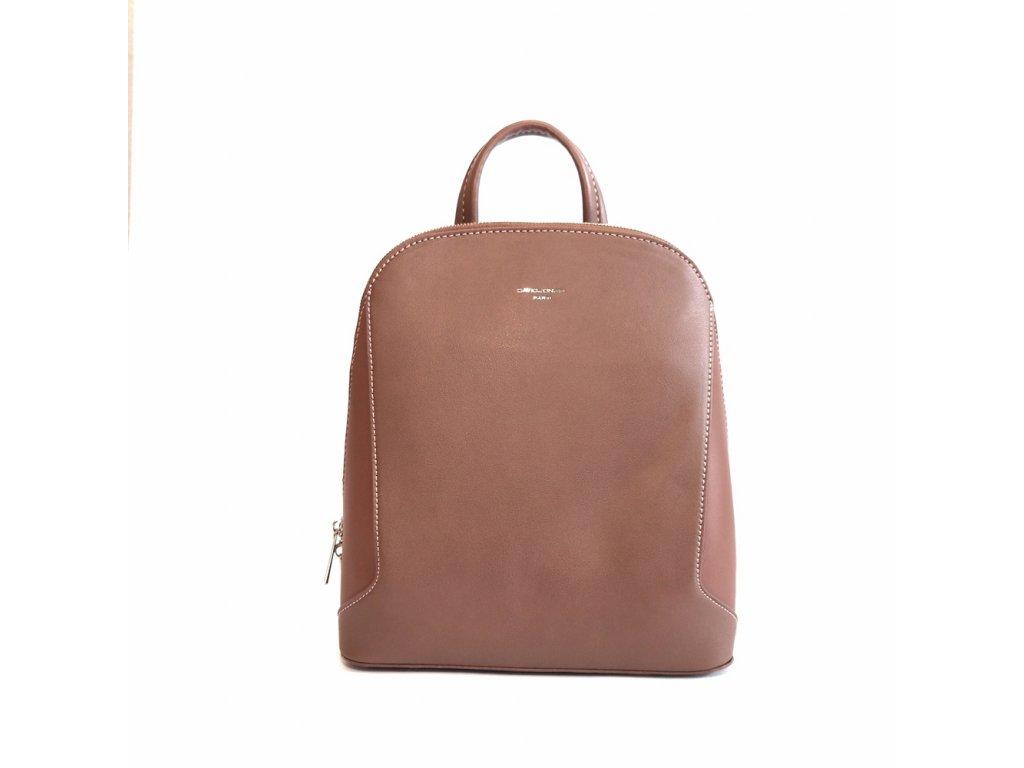 55e629832f Dámský městaký malý batoh David Jones 5830-3 s obsahem 5l tmavěrůžový