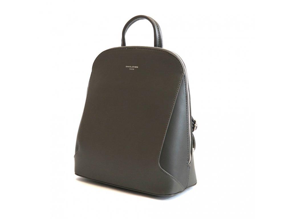 ee1307089 Dámský městský malý batoh David Jones 5830-3 s obsahem 5l šedý