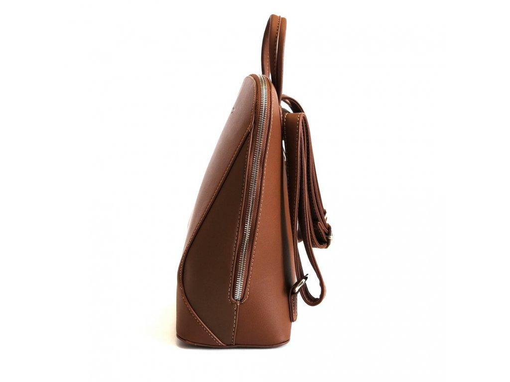 fc10747e2 Dámský městský malý batoh David Jones 5830-3 s obsahem 5l hnědý